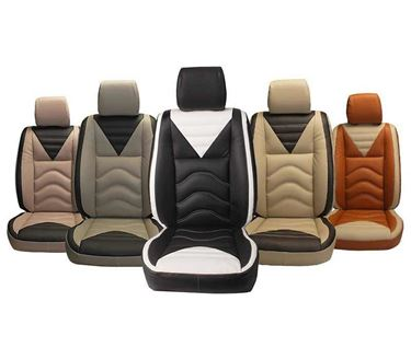Picture of (PL-206 Vibro) Tata Harrier 2019 Custom-fit Leatherette 3D Car Seat Covers