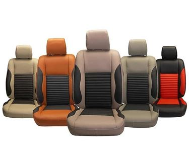 Picture of Custom-fit Leatherette 3D Car Seat Covers for Honda City Old - (PL-207 Cave)