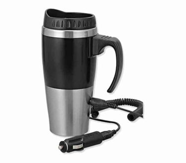 Picture of Car heater mug with car / USB charger
