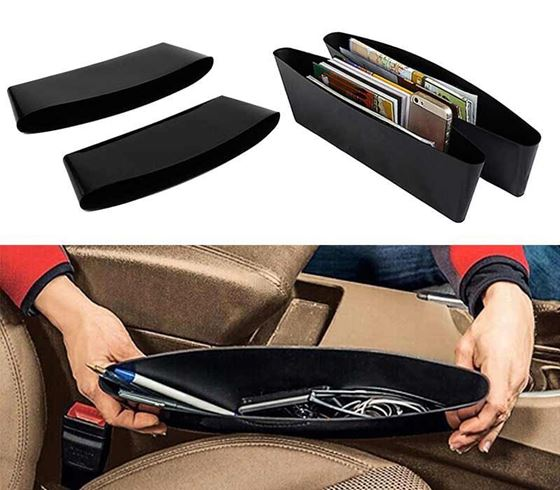 Picture of Car Seat Side Gap Pocket Catcher Storage Bag Box (Set of 2)