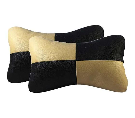 Picture of Neck Rest Cushion for Car (Set of 2) - Beige