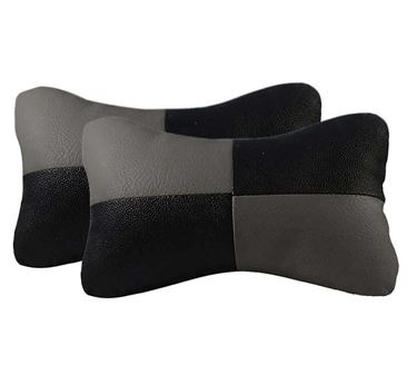 Picture of Neck Rest Cushion for Car (Set of 2) - Grey