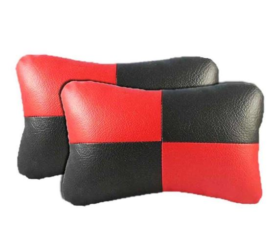Picture of Neck Rest Cushion for Car (Set of 2) - Red