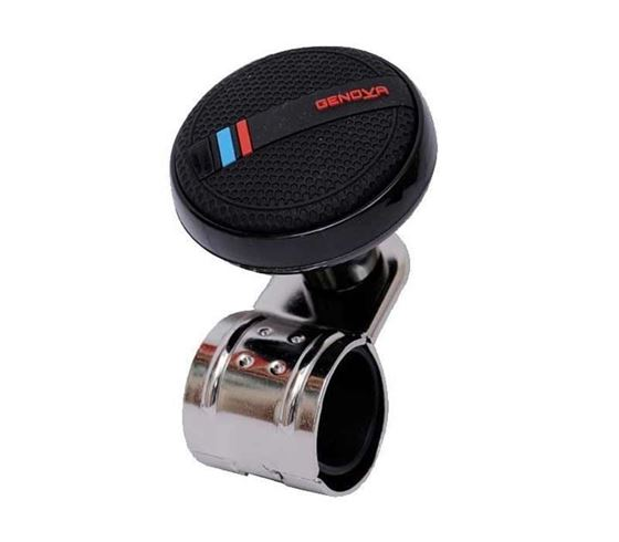 Picture of Genova Black Car Steering Knob