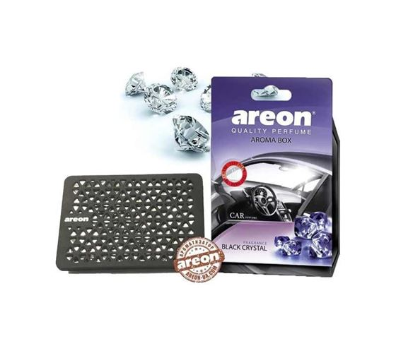 Picture of Areon Aroma Box (under the seat) Air freshener - Black Crystal