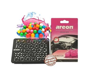 Picture of Areon Aroma Box (under the seat) Air freshener - BUBBLE GUM