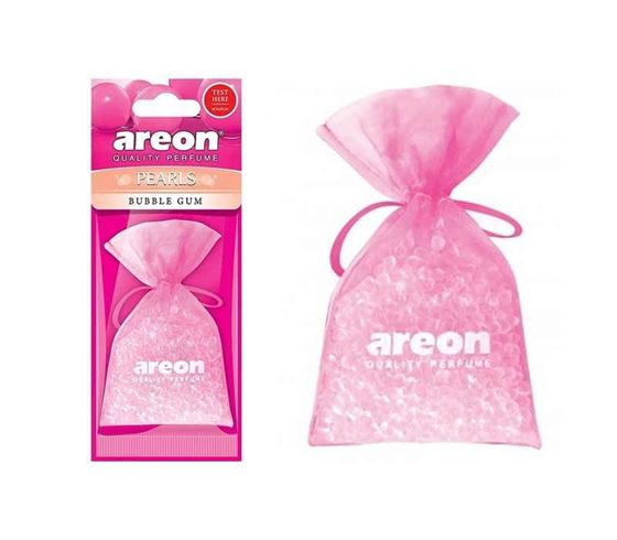 Picture of Areon Pearls Bubble Gum Car Air Freshener (25g )
