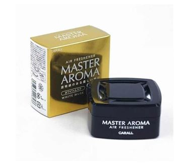 Picture of Carall Master Aroma White Musk Scent Car Air Freshener (55 ml) Gel