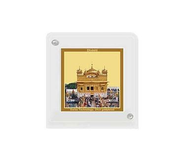 Picture of Diviniti 24k Gold Plated Car Dashboard Frame Golden Temple (ACF 1B)