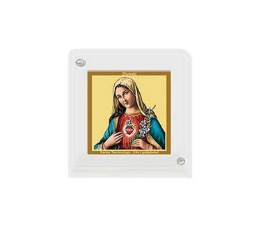 Picture of Diviniti 24k Gold Plated Car Dashboard Frame Mother Mary (ACF 1B)