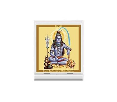 Picture of Diviniti 24k Gold Plated Car Dashboard Frame Shiva (ACF 3)