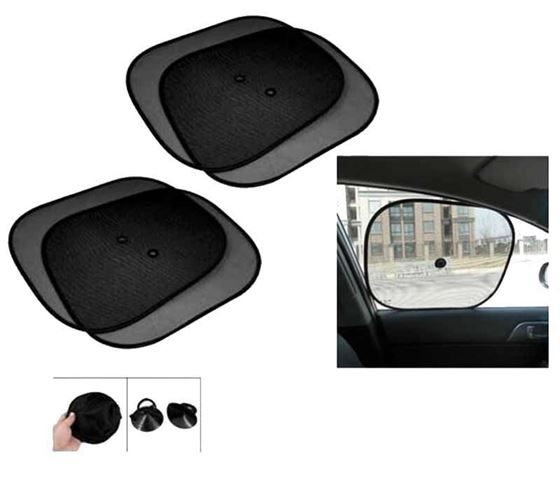 Picture of Car Auto Window Sun Shade Mesh Type Set of 4