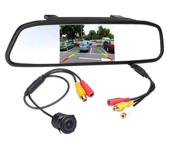Picture of Premium Quality 4.3 TFT LCD Monitor Car Reverse Rear View Mirror