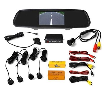 Picture of Premium Quality 4.3 TFT LCD Monitor Car Reverse Rear View Mirror with Sensors