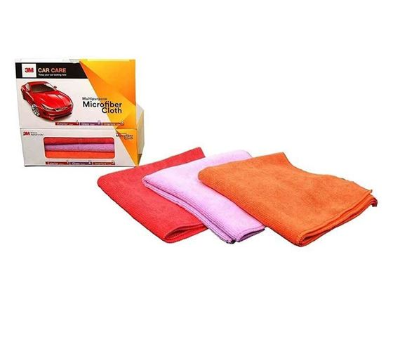 Picture of 3M Auto Clean Multi Cloth Pack (3 Pieces)