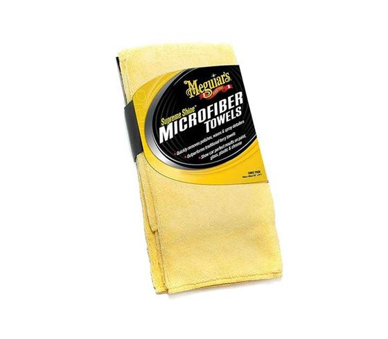 Picture of Meguiars Supreme Shine Microfiber Cloths (Pack of 3)