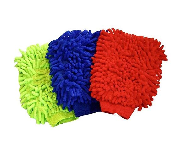 Picture of Microfiber Glove hand wash car cleaning duster