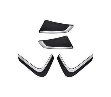 Picture of ASI Car Custom Fit Bumper Scratch Protectors for Renault Kwid, Set of 4
