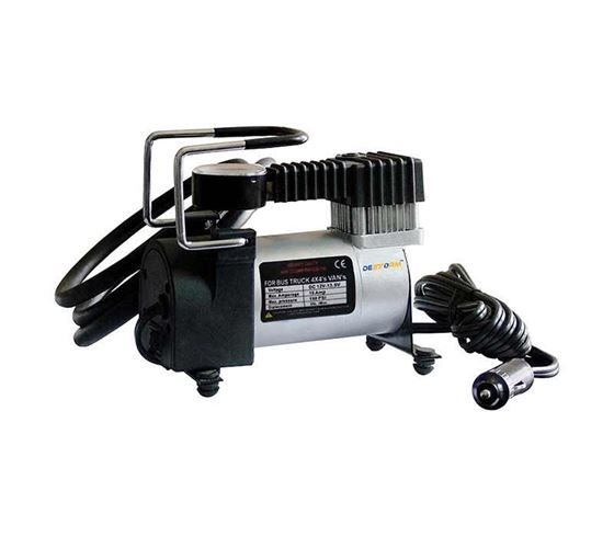 Picture of Destorm Air Compressor Pump Tyre Inflator 12v Electric for Cars and Bikes SUV