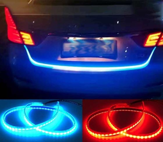 Picture of Car Rear Boot Led Daytime Running Light Strip trunk light with indicator (For All Cars)