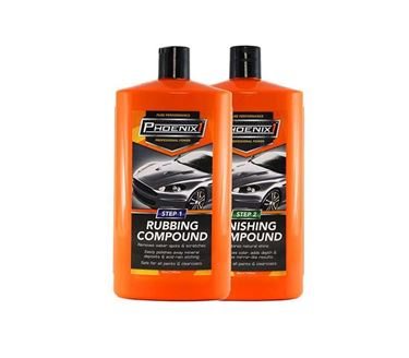 Picture of Phoenix1™ Rubbing Compound Step 1 (945ml) and Finishing Compound Step 2 (945ml)
