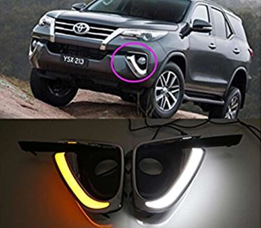 Picture of Premium Quality Neon Daytime Running Light(DRL) For Toyota New Fortuner 2016