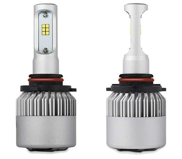 Picture of H4 6000K Car LED Headlight Bulb Pair for Chevrolet Beat