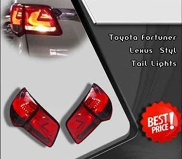 Picture of Toyota Fortuner Tail Lights Lexus Style