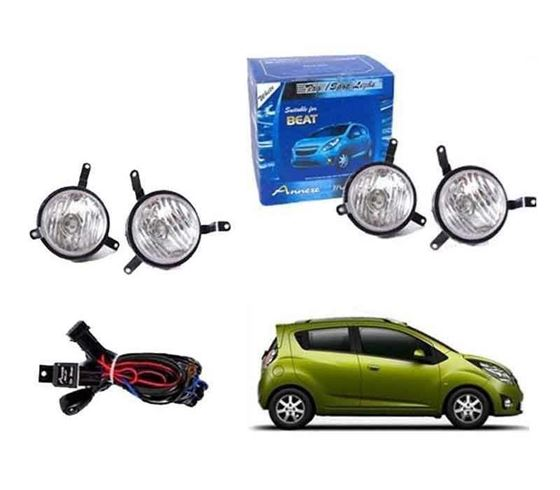 Picture of Chevrolet Beat Fog Light Lamp Set of 2 Pcs. With Wiring