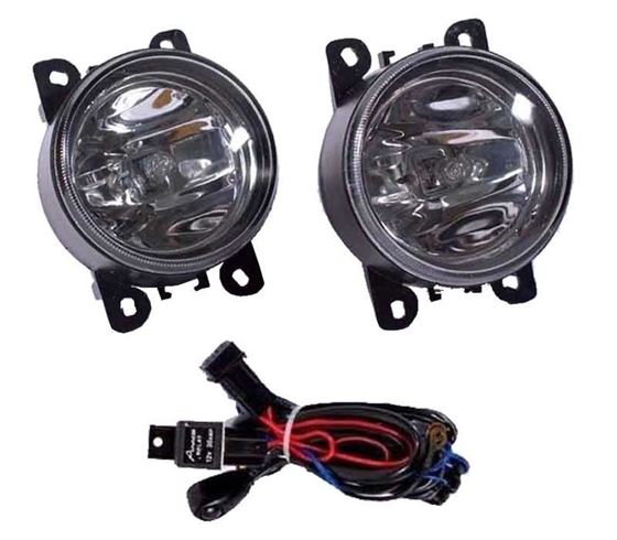 Picture of Ford Figo Aspire Fog Light Lamp Set of 2 Pcs. With Wiring