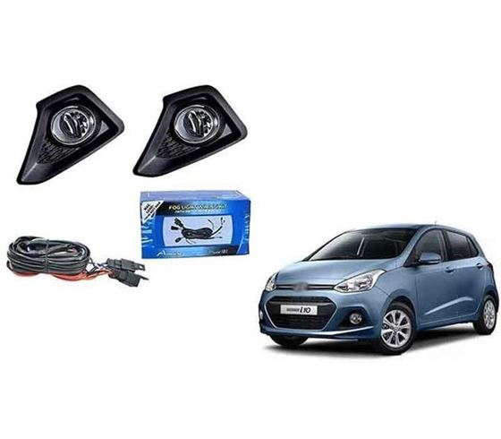 Picture of Hyundai Grand i10 Fog Light Lamp Set of 2 Pcs. With Wiring