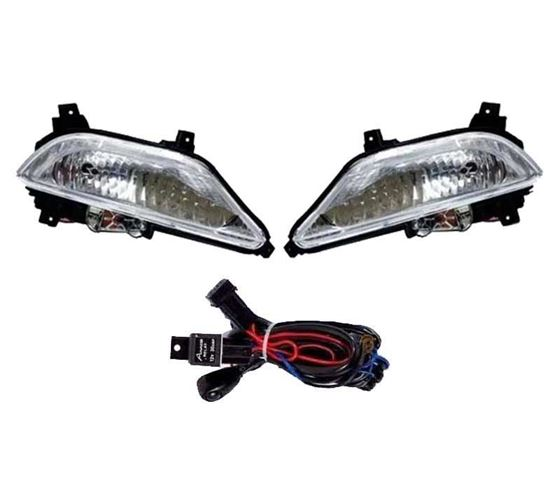 Picture of Hyundai i20 Elite Fog Light Lamp Set of 2 Pcs. With Wiring