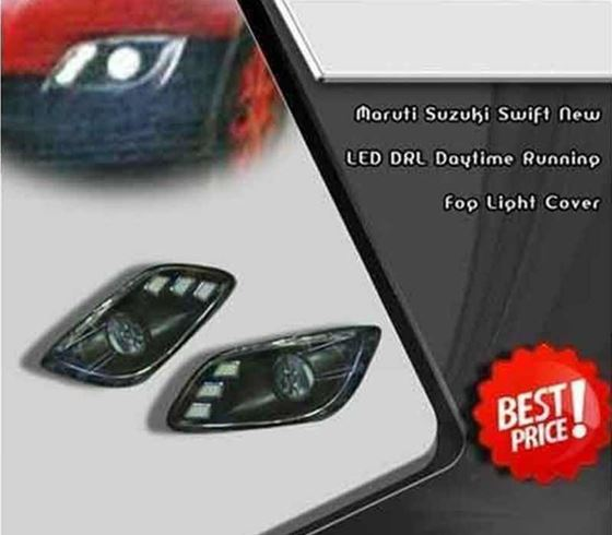 Picture of Maruti Suzuki Swift New LED DRL Daytime Running Fog Light Cover