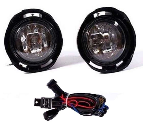 Picture of Toyota Etios Fog Light Lamp Set of 2 Pcs. With Wiring