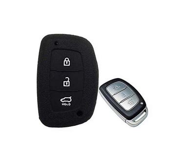 Picture of Silicone Key Cover for Hyundai Verna 2017 (PUSH BUTTON START)