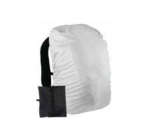 Picture of Urbanlifestylers Raincoat For Bags/Laptop Bag Cover Free Size (Silver)