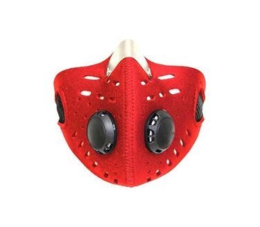 Picture of Anti-pollution Half Face Mouth-muffle Dust Face Mask Specially for Bike Riders (Red)