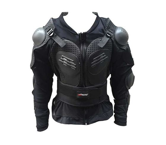 Picture of Riding Gear Body Armor Jacket For Bike Driving - Large Size (Fits - 40 Shirt Size)