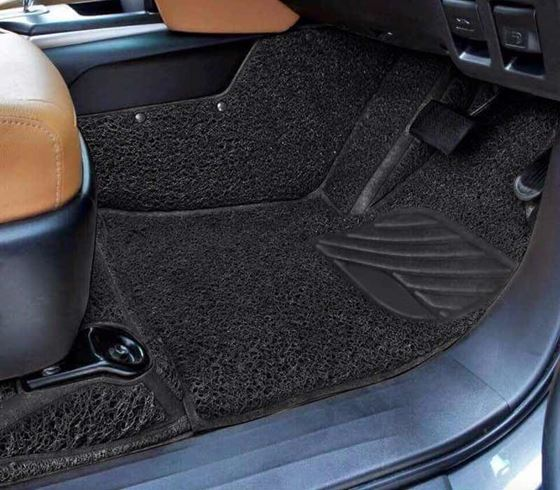 Picture of 7D Curly Custom Fitted Car Mats For Mercedes S500 2015 - Black