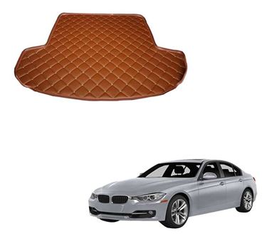 Picture of 7D Custom Fitted Car Trunk Base Mat for BMW 3 Series 2019 - Tan