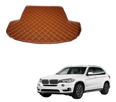Picture of 7D Custom Fitted Car Trunk Base Mat for BMW X5 xDrive 2019 - Tan