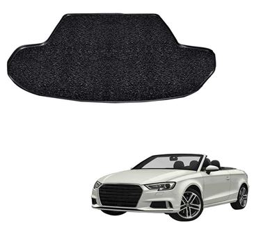 Picture of Curly Custom Fitted Car Trunk Mat for Audi A5 2018 - Black