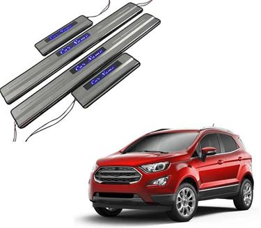 Picture of Car Door Sill Scuff Plate Foot Step for Ford Ecosport LED