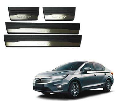 Picture of Premium Car Foot Step LED Sill Plate For Honda City
