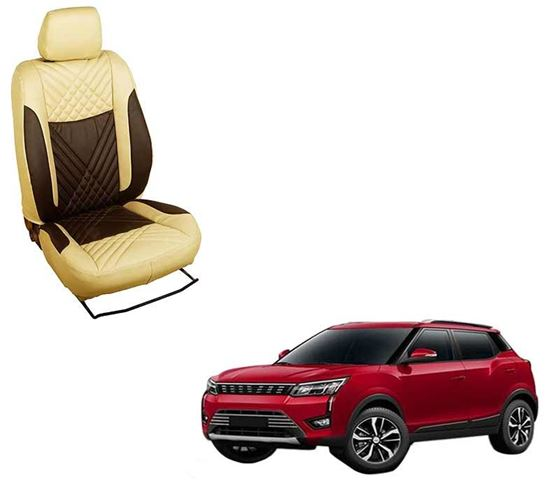 Picture of (HT-507 Penta) Mahindra XUV300 2019 3D Custom PU Leather Car Seat Covers