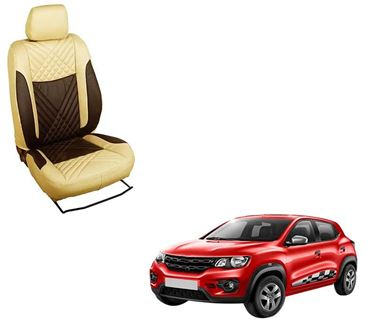 Picture of (HT-507 Penta) Renault Kwid 3D Custom PU Leather Car Seat Covers