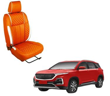 Picture of (HT-508 Squar) MG Hector 2019 3D Custom PU Leather Car Seat Covers
