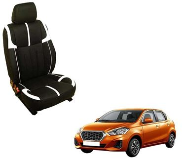 Picture of (HT-509 Crypto) Datsun Redi-GO 3D Custom PU Leather Car Seat Covers