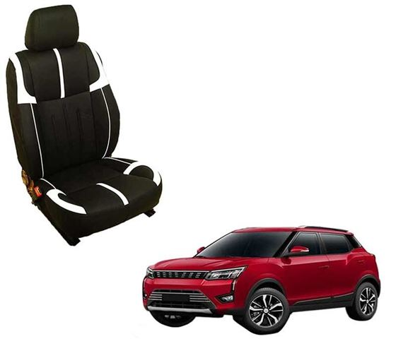 Picture of (HT-509 Crypto) Mahindra XUV300 2019 3D Custom PU Leather Car Seat Covers