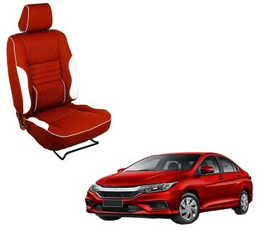 Picture of (HT-510 Roy) Honda City Type 1 3D Custom PU Leather Car Seat Covers